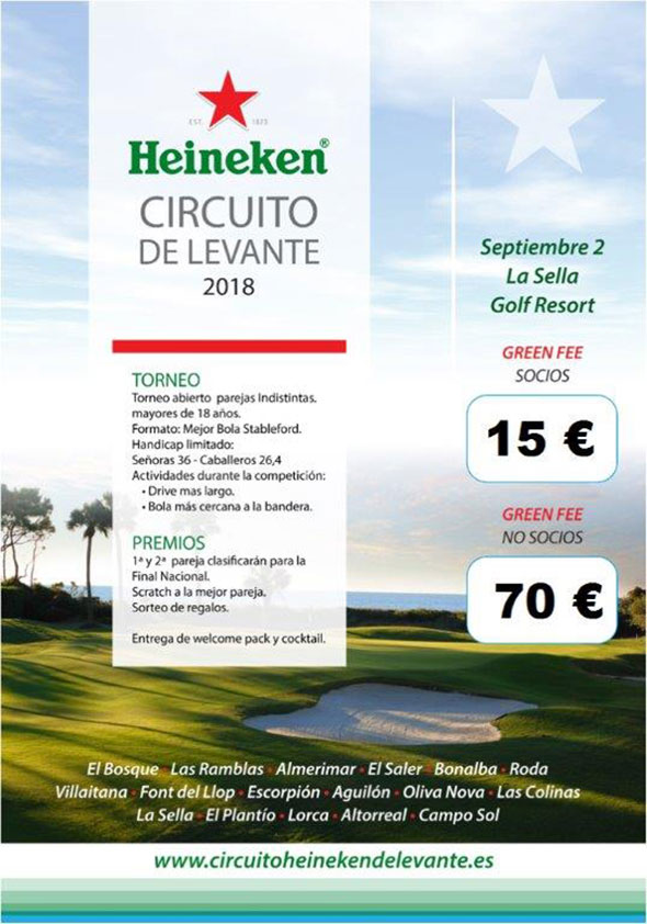 Heineken circuito de Levante