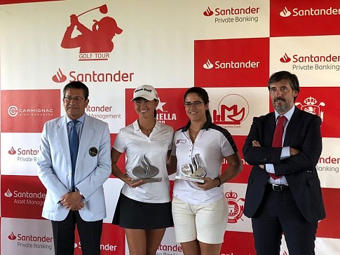 Spectacular victory of Natasha Fear on the Santander Golf Tour