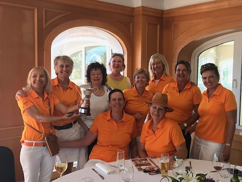 The team of La Sella Golf wins the Liga Interclubes Ladies of the Valencian comunity