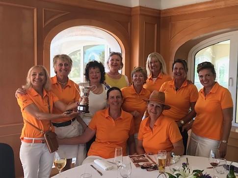 El equipo de La Sella Golf conquista la Liga Interclubes Damas de la Comunidad Valenciana